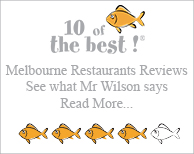 Mr Wilson reviews Melbourne CBD Restaurant Box on Collins, Generous and Familiar Seafood Extravaganza